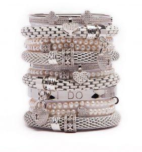 Silis Wedding bracelets Hilde Declerck